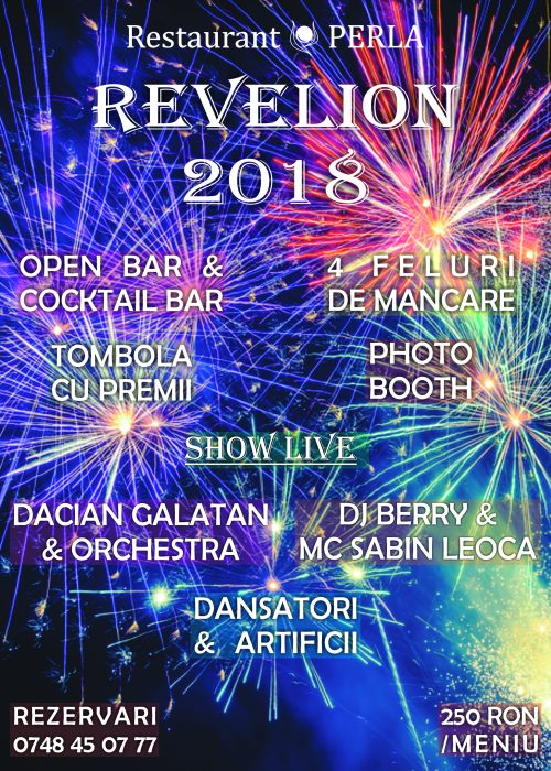 Revelion 2018 Restaurant Perla
